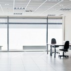 an image of a suspended ceiling being used as an office