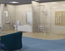 An image showing an ILC Bathroom
