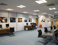 An image showing an IT Room