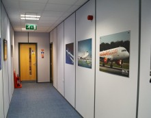 An image showing the Boeing Hallway