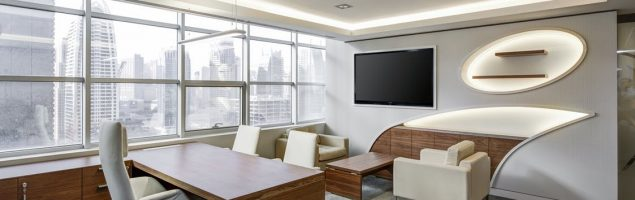 an example of modern office interior design