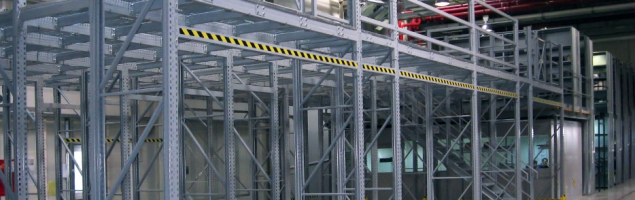 an image of a warehouse mezzanine