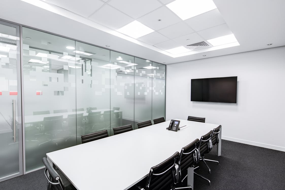 an image of an exposed grid false ceiling