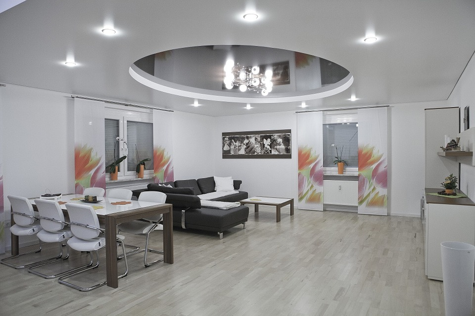 an image plasterboard suspended ceiling