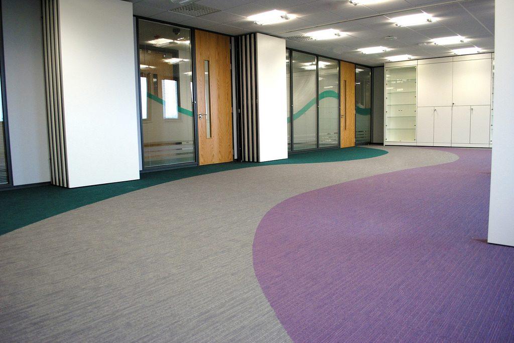 an image of an office carpet