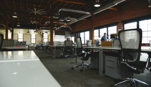 image of a modern office interior