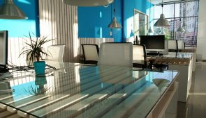 image of an office interior