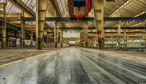 image of an industrial factory interior