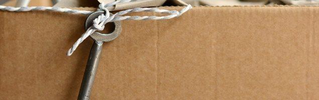 Box of possessions